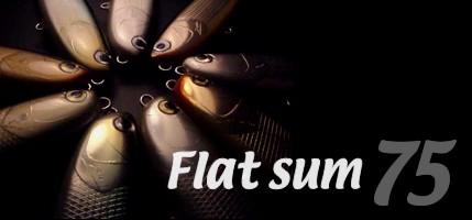 Flat sum75